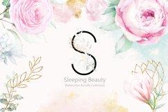 Sleeping Beauty Wedding Watercolor Bundle Product Image 2