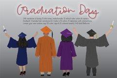 Graduation Day Clipart Set Product Image 1