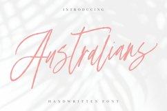 Australians - Handwritten Font Product Image 1