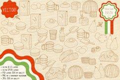 Italian Food. Pasta main ingredients & fillings. Product Image 4