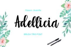 Adellicia Trio Font Product Image 1