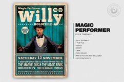 Magic Performer Flyer Template V1 Product Image 2