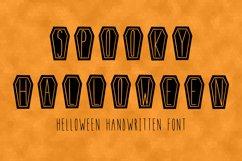 Spooky Halloween handwritten font in ttf, otf Product Image 2