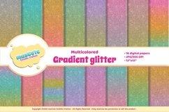 Digital Paper Pack - Gradient Glitter Product Image 1