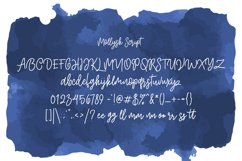 Mollysh Calligraphy Font Product Image 6