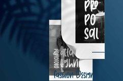 Web Font Theatrica - Playfull Monoline Font Product Image 2