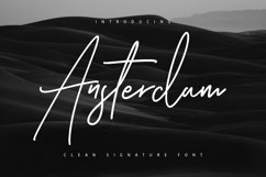Ansterdam - Clean Signature Font Product Image 1