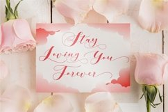 Loving Hearty - A Beauty Script Fonts Product Image 11