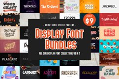 Display Font Bundles Collection Product Image 1