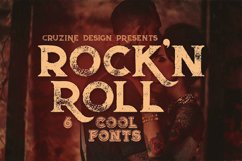 Rock'n Roll Typeface Product Image 1