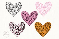 Heart With Leopard Texture Product Image 1