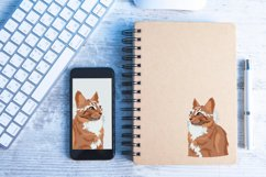 Cat Vector Illustration   Majestic Product Image 4