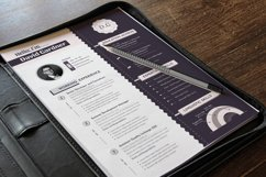 Modern Editable Resume Cv Template in Word Apple Pages Product Image 6