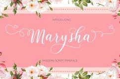 Marysha Script Product Image 1