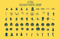 Mitoos Halloween typeface with extras Product Image 6