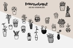 Imperfectionist - Inked Plant pots Product Image 6
