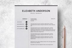 Resume Template | CV Cover Letter - Elizabeth Anderson Product Image 5