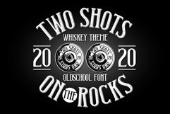 Two Shots label font Product Image 4