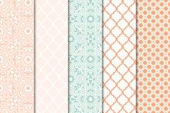 Digital Paper Pack - Arabesque Set 03 Product Image 2