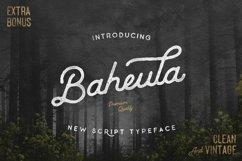 Baheula Script Typeface Product Image 2