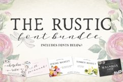 The Rustic Font Bundle by Beck McCormick Product Image 1