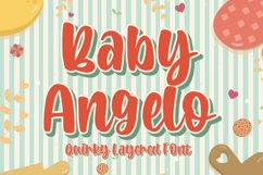 Baby Angelo - Quirky Layered Font Product Image 1