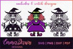 WENDY THE WITCH SVG MINI BUNDLE MANDALA ZENTANGLE DESIGN Product Image 3