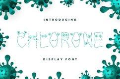 Chlorone Font Product Image 1