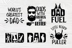 Fathers Day Svg, Beard Svg, Dad Signs, Beer Svg, Bbq Svg Product Image 5
