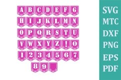 Banner #01 Papel Design #03 Style 03 Alphabet A to Z 0 to 9 Product Image 3