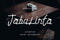 Tabulinta - A Uniquel Font Product Image 1