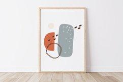 Boho Abstract PRINT, Abstract Wall Art, Minimal Print Product Image 1