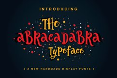 The Abracadabra Typeface Product Image 1