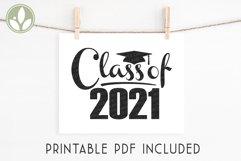Class of 2021 SVG, Graduation Svg, Senior 2021 Svg Product Image 4