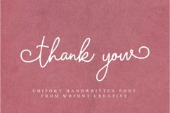 Chipoky | A Handwritten Font Product Image 6
