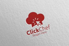 Click Food Logo for Restaurant or Cafe 64 Product Image 3