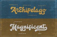 Anggada - Vintage Script Font Product Image 2