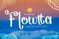Web Font Flowtta Product Image 1