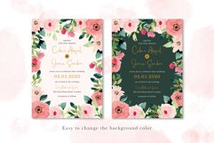 Sweet Floral Wedding Invitation Set Product Image 5