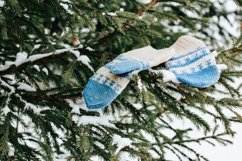 The concept of wintertime, holidays, New Year, Christmas. Product Image 1