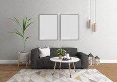 Interior mockup bundle - blank wall mock up Product Image 5