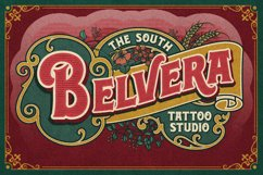 Rosvard - Vintage Layered Typeface Product Image 7