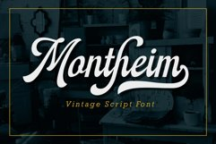 Montheim Script Product Image 1