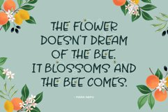 Honey and Bee Font Product Image 2