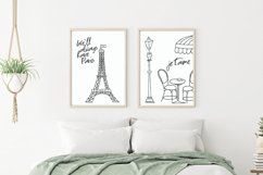 Paris Eiffel Tower Wall Art Printable Product Image 1