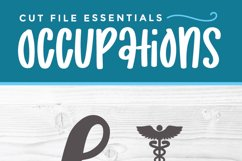 Nurse practitioner svg file for crafters - an np svg Product Image 3