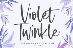 Violet Twinkle Modern Handwritten Script Font Product Image 1