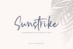 Sunstrike a Handwritten Script Font Product Image 1