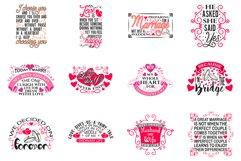 Wedding Quotes SVG Bundle Product Image 2