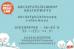 Snowty 3 Font Product Image 6
